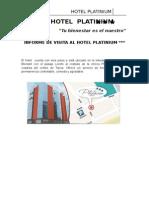 INFORME HOTEL DE VISITA HOTEL PLATINIUM.docx