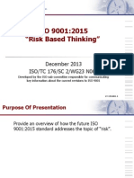 0_ISO 9001_2015 Risk Based Thinking