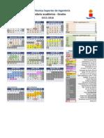 Calendario Académico 2015-16 ETSI