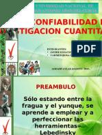 VALIDEZ Y CONFIABILIDAD EN UNA INVESTIGACION CUANTITATIVA