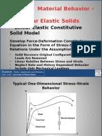 slides Chapter 4 Material Behavior-Linear Elastic Solids