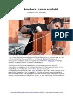 Ścianka kolankowa - zalecenia architektów