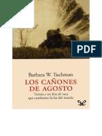 Wertheim Tuchman, Barbara - Los Canones de Agosto