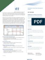 Mindjet JCVGantt 3 - Datasheet