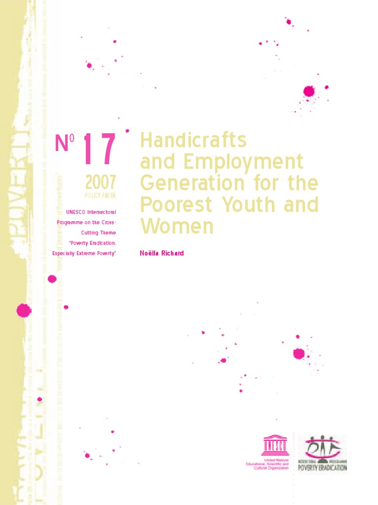 Hanti Crafts Poverty Reduction Informal Sector