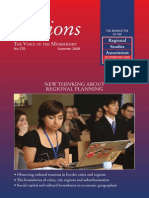 Regions n270 a Special Issue on New Thinking About Regional Planning Handled by Aesop Young Academics