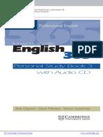 English 365 - Personal Study Book 3