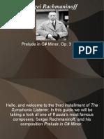 Listening Guide Rachmaninoff