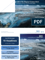 Working Group I Contribution to the IPCC Fifth Assessment Report Climate Change 2013