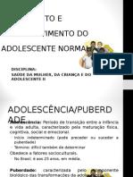 Aula 1 - Saúde Do Adolescente