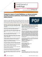 Prognostic Impact of Atrial Fibrillation on Clinical Outcomes