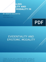 Disentangling Evidentiality and Epistemic Modality in Romance