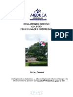 reglamento interno f o c  ultimo 11-8-15