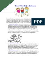 12 Tips Para Criar Hijos Exitosos