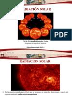 Presentacion 5. Radiacion Solar