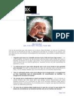 Albert Einstein. Pensamientos de Vida