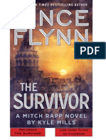 The Survivor by Vince Flynn with Kyle Mills