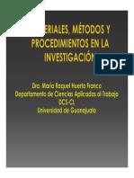 Clase Dra Huerta Material y Métodos