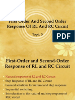 Chap5-First Order and Second Order