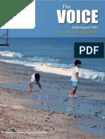 """THE VOICE"" Village magazine for Gayton, Norfolk"