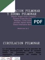 fISIOLOGIA CIRCULACION PULMONAR