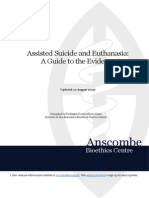 Assisted Suicide and Euthanasia