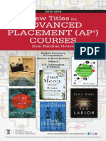 Random House 2015-2016 Advanced Placement (AP®) Catalog