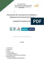 Lineamientos Del PVU y SNS 2