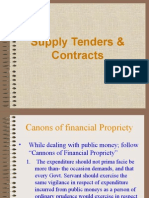 Indents and Tenders by PIM