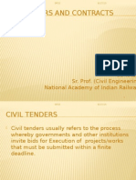 Civil Tenders and Contracts SPCE