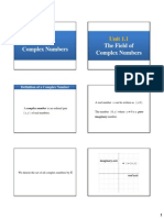1.1. the Field of Complex Numbers