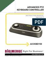 Digimerge ACCKBD150 Installation Manual