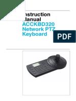 Digimerge ACCKBD320 Installation Manual