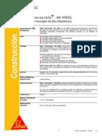 SikaViscocrete 40 HSCL