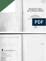 Antología Crítica de La Poesía I Nómez