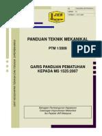 JKR Panduan Teknik Mekanikal MS1525:2007