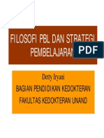 Filosofi PBL & Strategi Pembelajaran