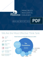 Tax Foundation 2014 Annual Report