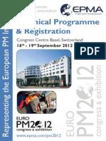 Euro Pm 2012