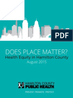 Health Equity Report 2015
