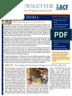 ACF Liberia Newsletter-Vo.l 2