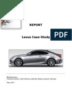 Lexus case study