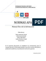Normas APA en La UMB Virtual