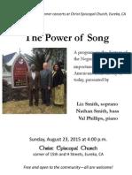 2015 August Flyer