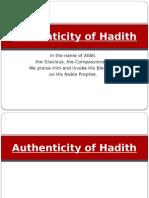 Authenticity of Hadith