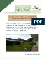 Mejoramiento I.E. N° 0250 Los Héroes de Arica