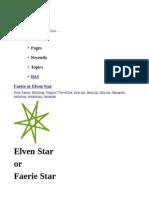 Faery Elven Star