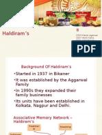 Haldiram's Ppt Template
