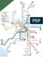 Roma Subway and Regional Trains