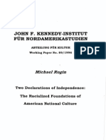 Rogin, M - Two Declarations of Independence